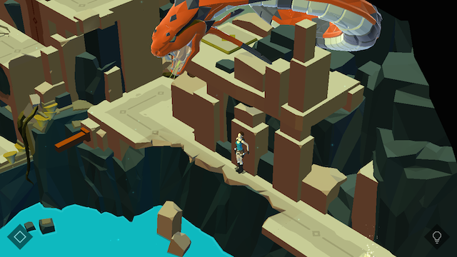 Lara-Croft-Go-Hiding-Dragon