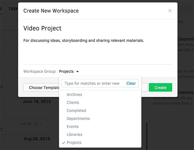 Intellinote: Put Your Tasks, Files, Messages & Online Meetings In One Place createworkspace