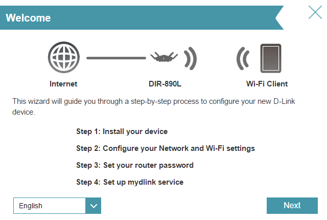 dlink guided configuration tool ultra router