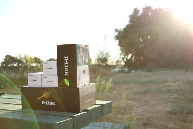 dlink in boxes
