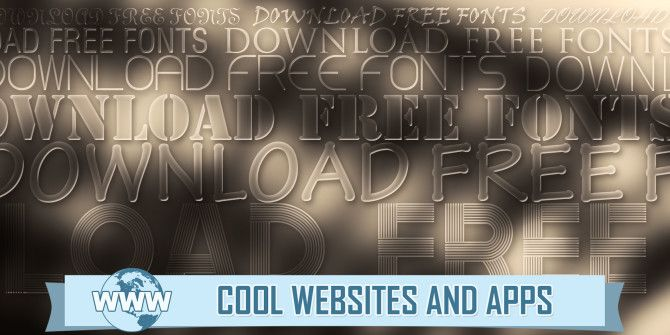 5 Sites to Discover and Download Free Fonts