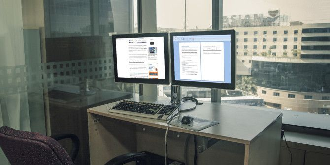 How to Be More Productive with Dual Monitors
