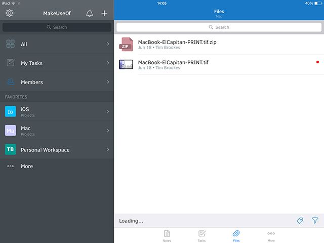Intellinote: Put Your Tasks, Files, Messages & Online Meetings In One Place intellinoteipad2