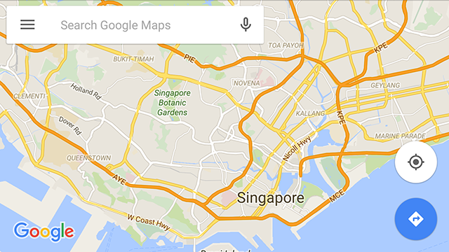 How to download offline maps in google maps for android maps offline main screen gumiabroncs Images