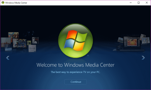 How To Get Windows Media Center In Windows 10 & Its Limitations