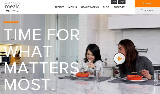 onceamonthmeals site