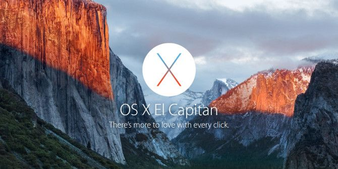 OS X El Capitan is Here! Upgrade For A Smoother Mac Experience