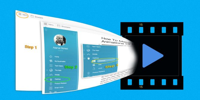 How To Make Quick Videos and GIF Animations Of Screencasts (And Why)