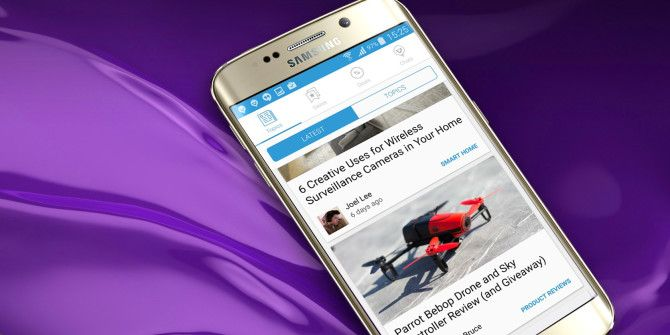 Get the Best of MakeUseOf with Our New Android App, and Win a Samsung Galaxy S6 Edge!