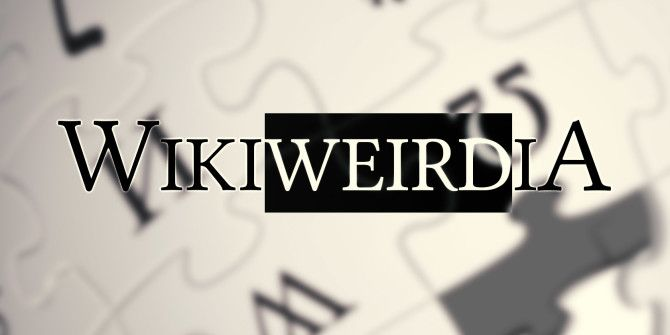 10 Insanely Weird Wikipedia Articles You Should Read