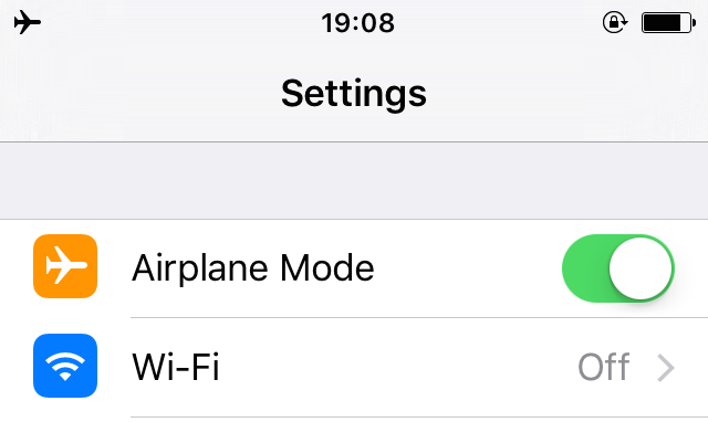 Airplane-Mode-iPhone