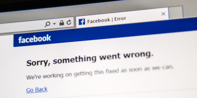 6 Things to Do When Facebook Goes Down