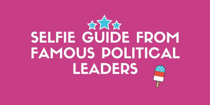 Take a Better Selfie With the Help of Famous Politicians