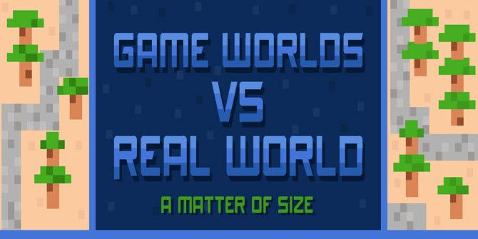 How Big Are the Worlds in Popular Video Games?
