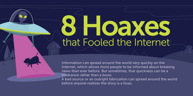 The Internet is Smart, But It Still Fell For These Hoaxes