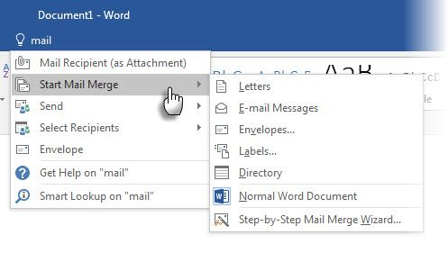 Microsoft Office - Tell Me
