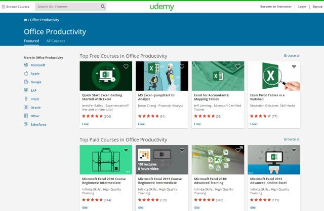 Microsoft Office - Udemy