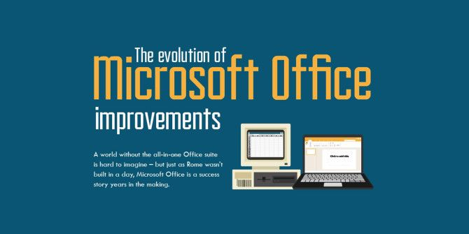 A Visual Look at the History of Microsoft Office