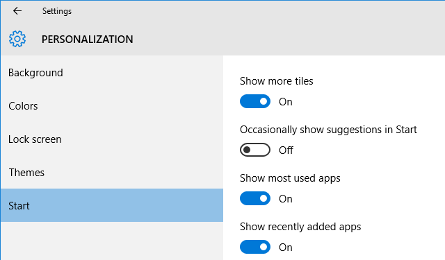 5 Places to Find & Disable Ads in Windows 10 Settings Start Suggested Apps 640x375