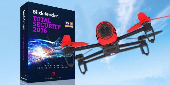 Bitdefender Total Security 2016 Giveaway; Parrot Bebop Quadcopter with Skycontroller Bundle!