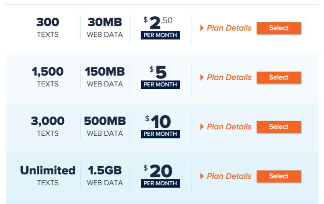 consumer-cellular-text-data-plans
