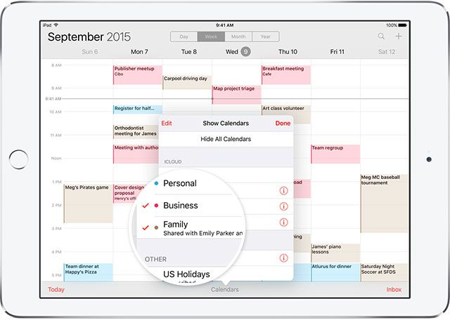 Set Up Family Sharing & Share Apps, Music & Other iTunes Purchases family sharing calendar