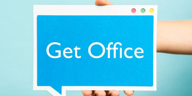 "How to Hide the Pesky ""Get Office"" Notification on Windows"