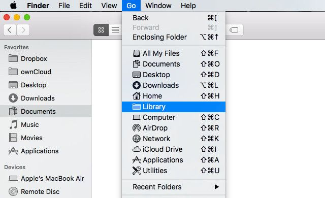 20 Things You Didn't Know You Could Do with the Mac Option Key go menu library folder1 640x390