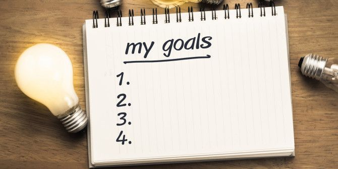 How to Build Effective Goals in 4 Easy Steps