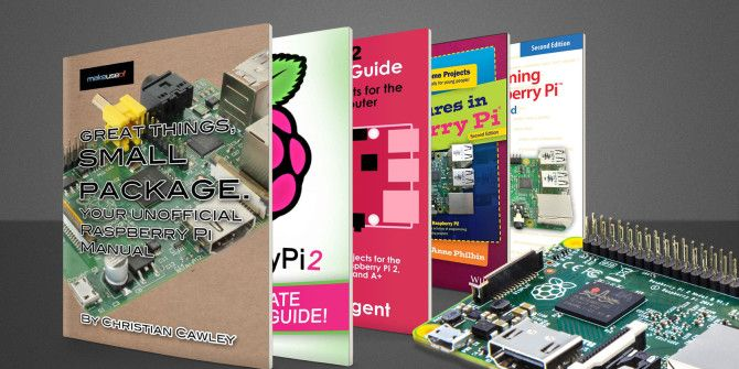 10 Great Raspberry Pi Books Full of Project Ideas