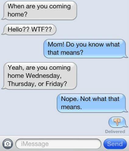 Texting lingo for parents