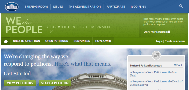 whitehouse-petitions