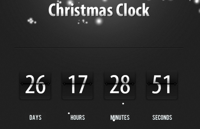 ChristmasClockCountdown