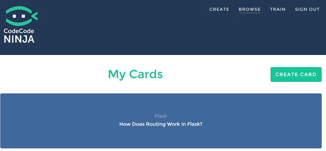 4 reasons why you shouldnt learn to code from codecademy ninja is that to progress through your deck youre forced to deliberately type out the answer to each card this ive found fandeluxe Images