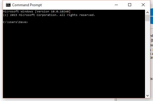 Command Prompt Windows 10 Ver
