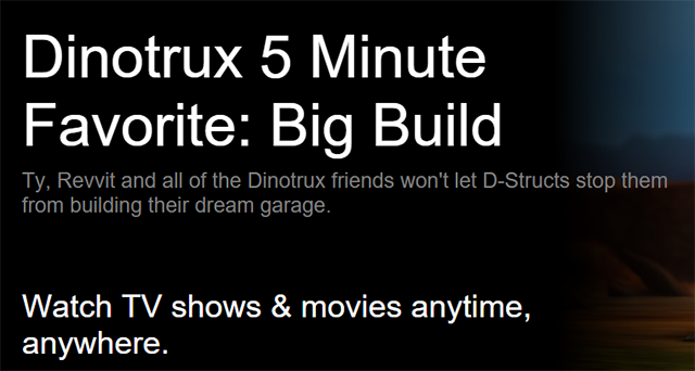 Dinotrux 5 Minute Favorite