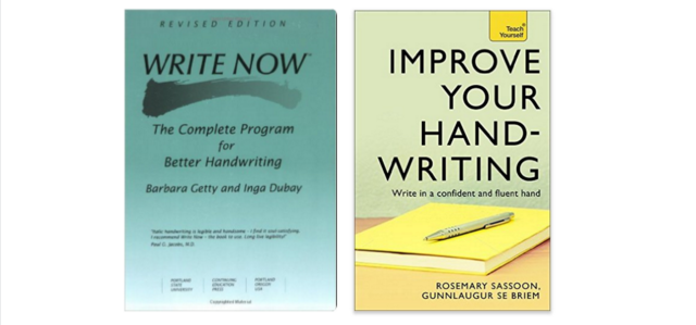 Best book to improve handwriting for adults