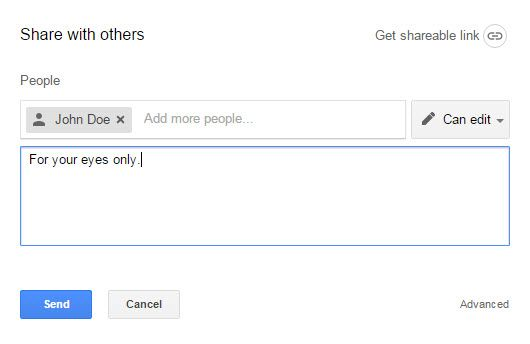 Sharing from Google Drive with non-Google users