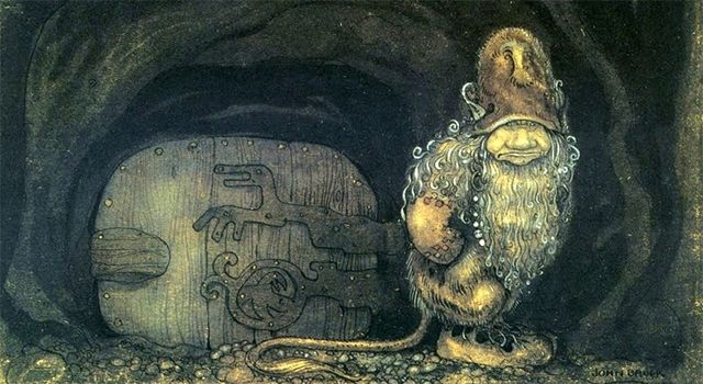 Troll_at_the_door_by_John_Bauer_1914