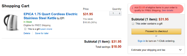 amazon-cart-free-shipping-threshold