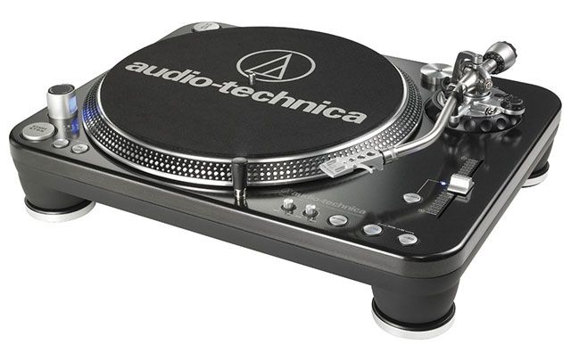 Audio Technica LP1240 Record Player