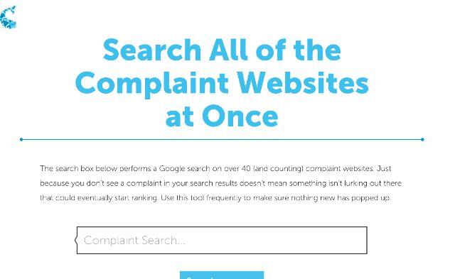 complaint-search
