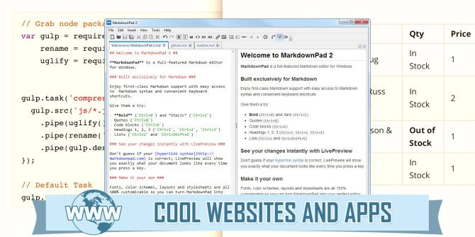 5 Sites and Apps for Quickly Learning Markdown