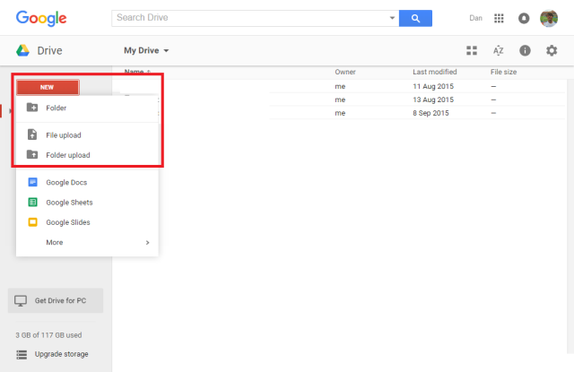 google-drive-menu-upload
