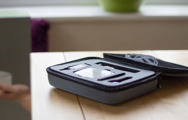 iDea Pico Projector Review - case