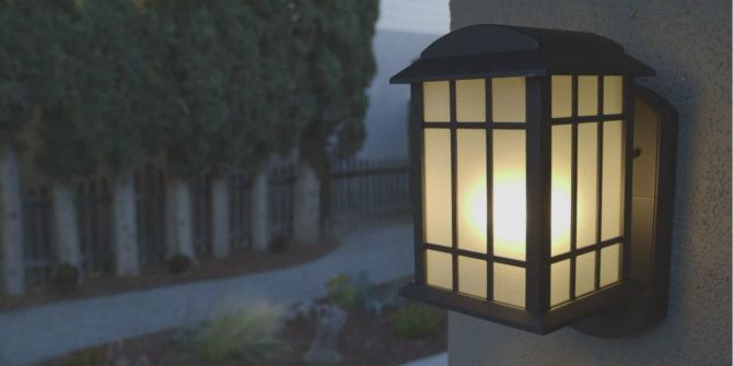 Kuna Home Security Light Review and Giveaway