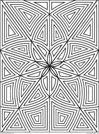 Adult Pattern Coloring Pages Mandalacol3 Mandala