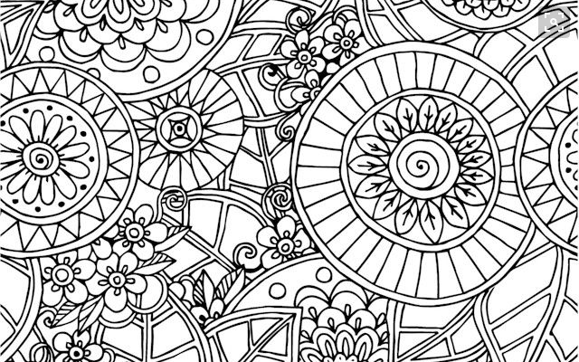 Relieve Daily Stresses With Beautiful Free Mandala Coloring Pages
