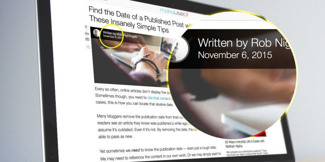 Find the Date of a Published Post with These Insanely Simple Tips