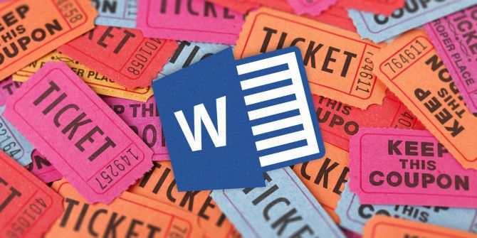 How to get a free raffle ticket template for microsoft word maxwellsz